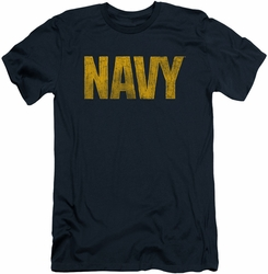 Navy slim-fit t-shirt Logo mens navy