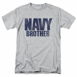 Navy t-shirt Brother mens athletic heather