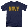 Navy t-shirt Logo mens navy