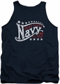 Navy tank top Stars mens navy