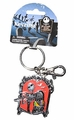 NBX Jack Skellington and Sally color pewter Key Chain