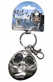 NBX Jack Skellington scared face pewter Key Chain