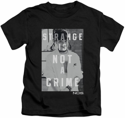 NCIS kids t-shirt Strange black