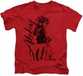 NCIS kids t-shirt Sunny Day red