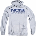 NCIS L.A. pull-over hoodie Logo adult athletic heather
