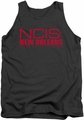 Ncis New Orleans tank top Logo mens charcoal