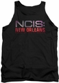 Ncis New Orleans tank top Neon Sign mens black