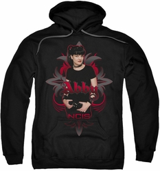 NCIS pull-over hoodie Abby Gothic adult black