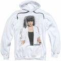 NCIS pull-over hoodie Abby Skulls adult white