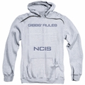 NCIS pull-over hoodie Gibbs Rules adult athletic heather