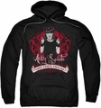 NCIS pull-over hoodie Goth Crime Fighter adult black