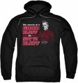 NCIS pull-over hoodie No Bluffing adult black