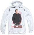 NCIS pull-over hoodie Probie adult white