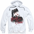 NCIS pull-over hoodie Strange Is Not A Crime adult white