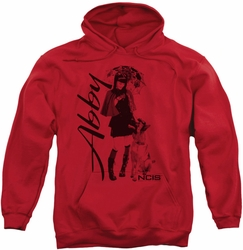 NCIS pull-over hoodie Sunny Day adult red