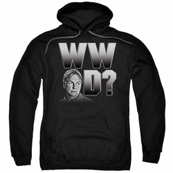 NCIS pull-over hoodie What Would Gibbs Do adult black