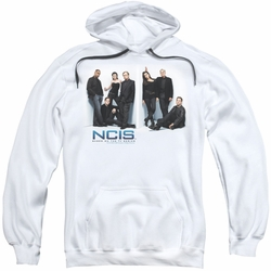 NCIS pull-over hoodie White Room adult white