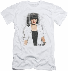 NCIS slim-fit t-shirt Abby Skulls mens white
