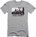 NCIS slim-fit t-shirt The Best mens silver