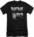 NCIS slim-fit t-shirt What Would Gibbs Do mens black