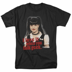 NCIS t-shirt Geek Talk mens black