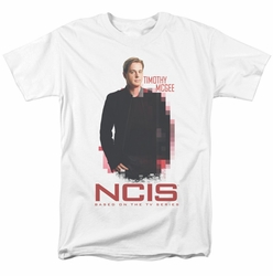 NCIS t-shirt Probie mens white