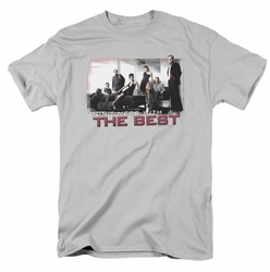 NCIS t-shirt The Best mens silver