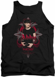 NCIS tank top Abby Gothic mens black