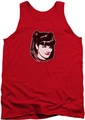NCIS tank top Abby Heart mens red