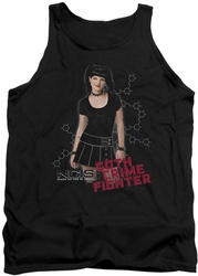 NCIS tank top Goth Crime Fighter mens black