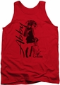 NCIS tank top Sunny Day mens red