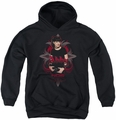 NCIS youth teen hoodie Abby Gothic black
