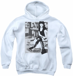 NCIS youth teen hoodie Relax white