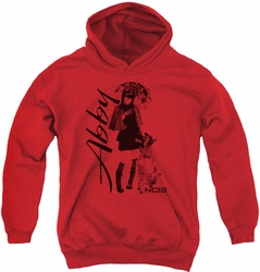 NCIS youth teen hoodie Sunny Day red