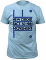 New Order Fact. 50 1981 Fitted Jersey t-shirt pre-order