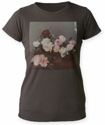 New Order Power, Corruption & Lies distressed boyfriend tee vintage black mens pre-order