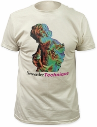 New Order technique fitted jersey tee pre-order