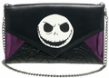Nightmare Before Christmas Quilted Envelope Wallet with Chain
