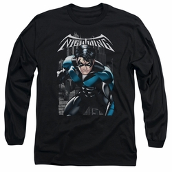 Nightwing adult long-sleeved shirt A Legacy black
