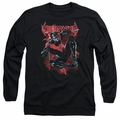 Nightwing adult long-sleeved shirt Lightwing black
