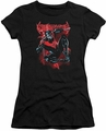 Nightwing juniors t-shirt Lightwing black