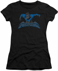 Nightwing juniors t-shirt Wing Of The Night black
