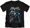 Nightwing kids t-shirt A Legacy black