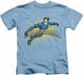 Nightwing kids t-shirt Burst carolina blue