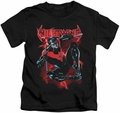 Nightwing kids t-shirt Lightwing black