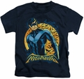 Nightwing kids t-shirt Moon navy