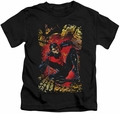 Nightwing kids t-shirt Nightwing #1 black
