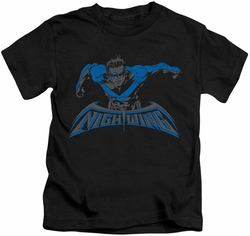 Nightwing kids t-shirt Wing Of The Night black