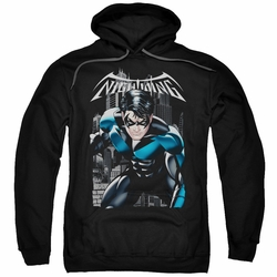 Nightwing pull-over hoodie A Legacy adult black