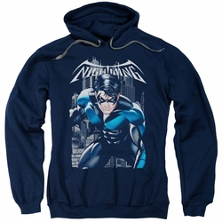 Nightwing pull-over hoodie A Legacy adult navy